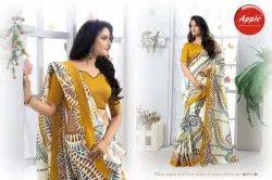 Apple Womaniya Vol-3 Stylish Party Wear Bhagalpuri Saree