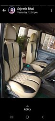4 Wheeler art leather Alto car seat cover