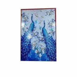 Blue Peacock Sandblast Ceramic Tiles, Size: 60 * 60 In cm, Thickness: 8 - 10 mm
