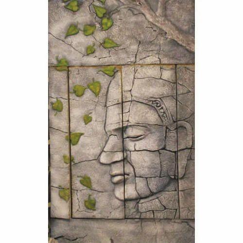 Face Wall Mural