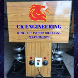 Semi Automatic Double Die Bowl Making Machine