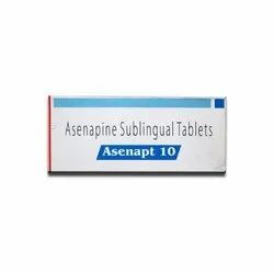 Asenapine Sublingual Tablets, Packaging Type: Box, for Clinical