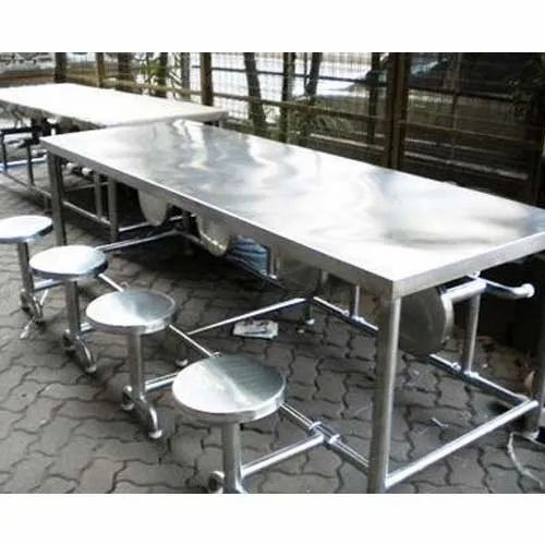 Silver Canteen Dining Tables