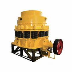 REW Cone Crusher Machine, Capacity: 50 To 250 Ton/Hr