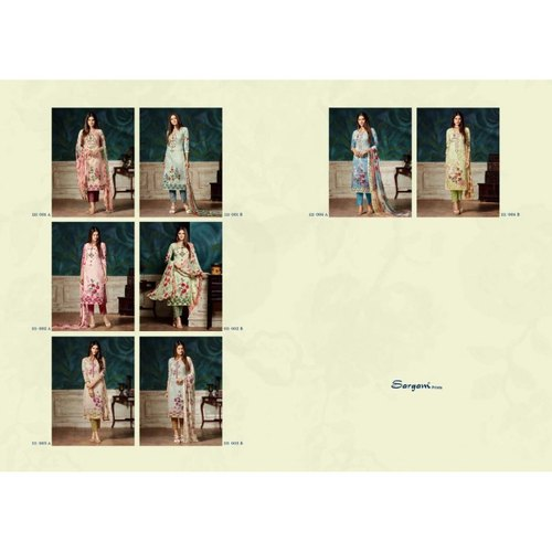 79f8a35343 Dress Material - Shahnaz Arts Crystal Pure Cotton Dress Materials ...