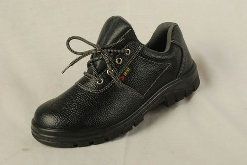 Black Leather Metro Alien Safety Shoes 7be2a955f