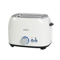 HAVELLS Crust White 800w Toaster