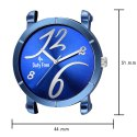 Blue Leather Wrist Watch