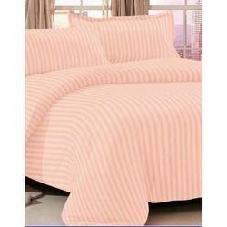 Satin Strips Bed Sheet