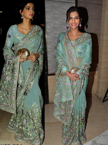 c40a898036 Bollywood Inspired Sarees - Sonam Kapoor BT158 Bollywood Inspired ...