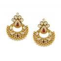 Orra Antara Chandbali Gold Earring Ger15006