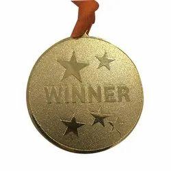 Winner Gold Plated Medal