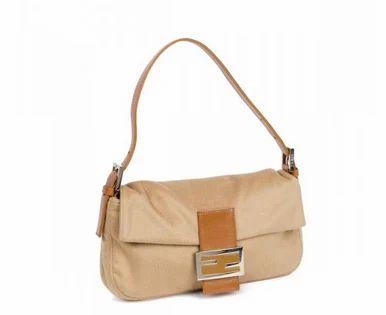 6bb236997b07 Fendi Cashmere Caramel Baguette Bag - CE Enterprises Pvt Ltd