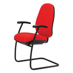 Visitor Red Color Chair