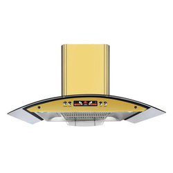 KAFF Wall Mounted Remote Control Modular Hood Kitchen Chimney, Warranty: 3 Years, Size: 90 Cm