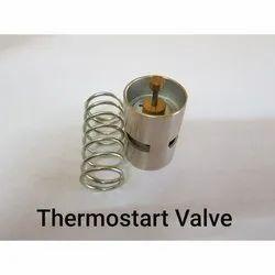 Stainless Steel Medium Pressure Compressor Thermostat Spare, For Air, Air Compressor Model: Valve