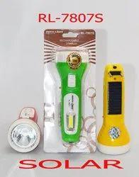 RL-7807S Rock Light Solar Rechargeable LED Light