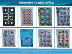 Machine Embroidery Bed Sheets