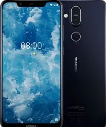 Blue Nokia 8 Sirocco Mobile Phone