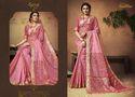 Party  Dark Beige pink Stylish Ladies Sarees