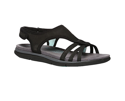 Hush Puppies Black Flat Sandals For Women F56461460000EG at Rs 4499 ... a669c5cd11