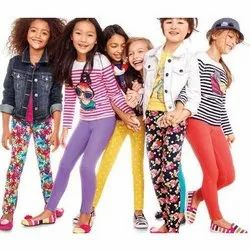 Casual Wear Mixed Girls Printed Leggings, Size: 4 to 14 yrs