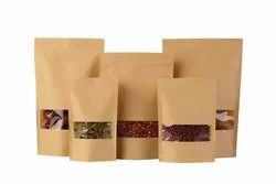 Kraft Paper Standup and Zipper Pouches