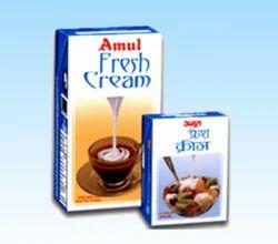 Amul Fresh Cream 12x1 Ltr TP, Packaging Size: 12x1 Ltr