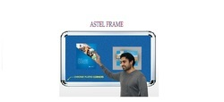 Beige And Brown Office Fabric Pin Up Notice Board, Frame Material: Durable Aluminium