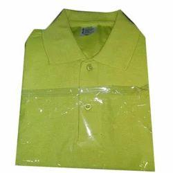 Half Sleeve Plain Collar T-Shirt