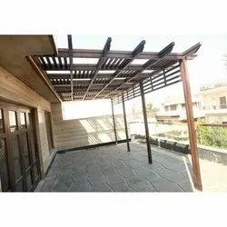 Outdoor Wooden Pergola
