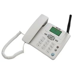 ARIA White GSM Telephone: AG 50