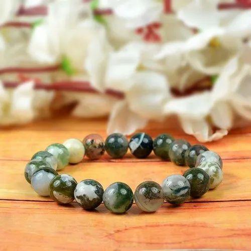 Moss agate bracelet Moss agate jewelry women Bracelets for women Green moss agate beads bracelet Moss agate chakra bracelet Crystal bracelet