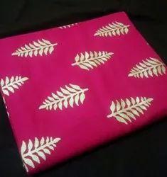 Leaf design Printed Rayon Fabric