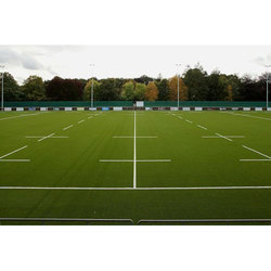Green Artificial Sports Ground Grass
