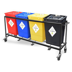 Bio Medical Waste Trolley
