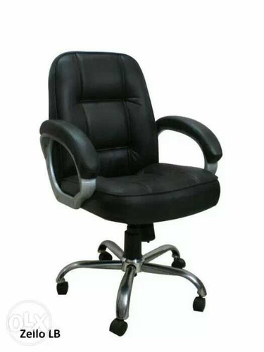 Leather Low Back Office Chair Adjule Seat Height Yes