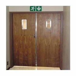 Hinged Wooden Fire Door
