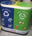 60 Liter Duo Recycle Bin