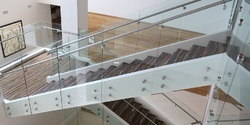 Boss Fitting Glass Handrail