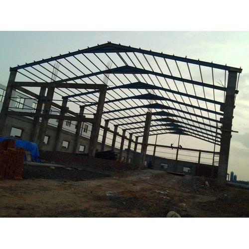Heavy MS Industrial Structure Service in Surajpur, Greater
