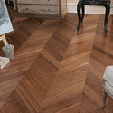 American Walnut Chevron Flooring
