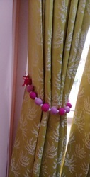 Felt Hand Made Craft Curtain Tie