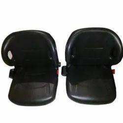 PVC Synthetic Leather Universal Forklift Tractor Seat