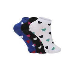 Printed Cotton Socks, Free Size