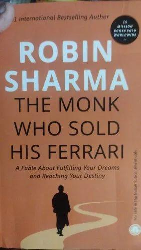 Robin Sharma English The Monk Who Sold His Ferrari Rs 75 Piece Id 22382164930