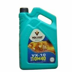 Volubit VX-10 10W40 Fully Synthetic Oil, for Automotive, Pack Sizes LT/KG: 3 L