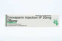 Lonopin 20 Mg Injection