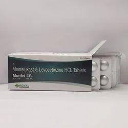 Montelukast & Levocetirizine Hcl Tablets