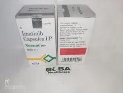 Veenat 100 Capsule, Imatinib Mesylate (100mg)